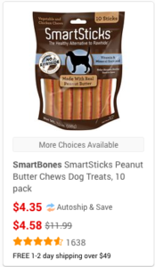 chewy dog treats
