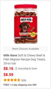 chewy soft dog treats