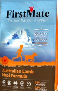 Bag of FirstMate Dog Food