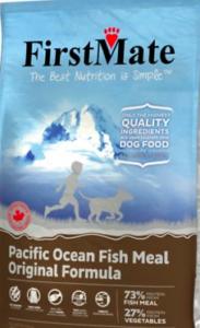 Bag of FirstMate Dog Food