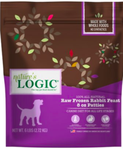 Nature's Logic Raw Frozen Dog Food