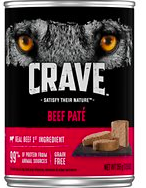 Crave canned dog food