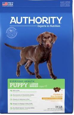 Authority Dog Food
