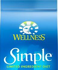 wellness simple dog food