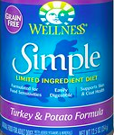 Wellness Simple canned dog food