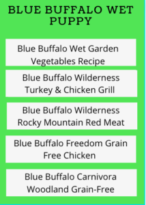 Blue Buffalo Puppy Food Review - Wet Recipes