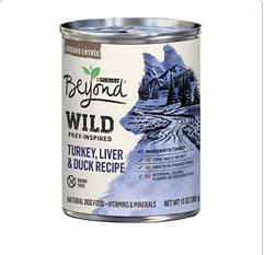 purina beyond dog food - can of dog food