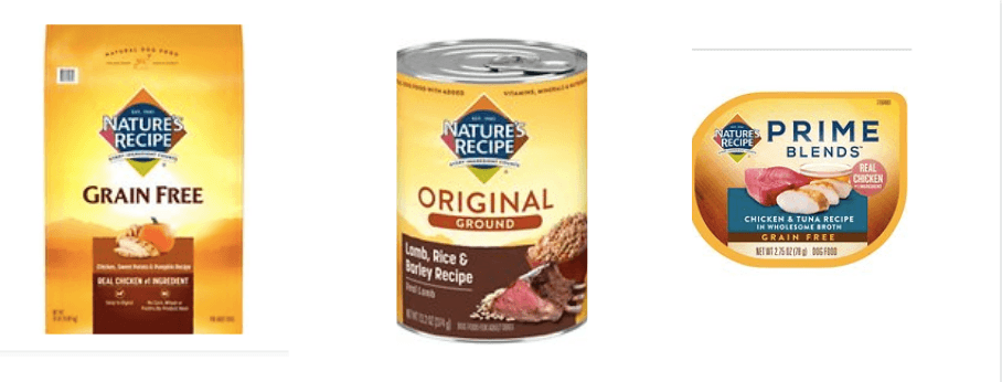 Nature's Recipe Dog Food - Nature's Recipe Dog Food Products