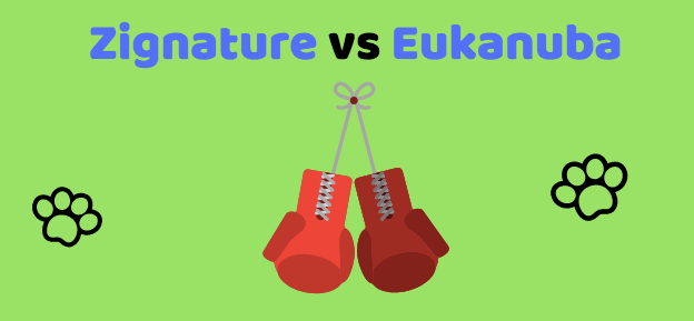 Zignature Dog Food Versus Eukanuba Dog Food - Boxing Gloves